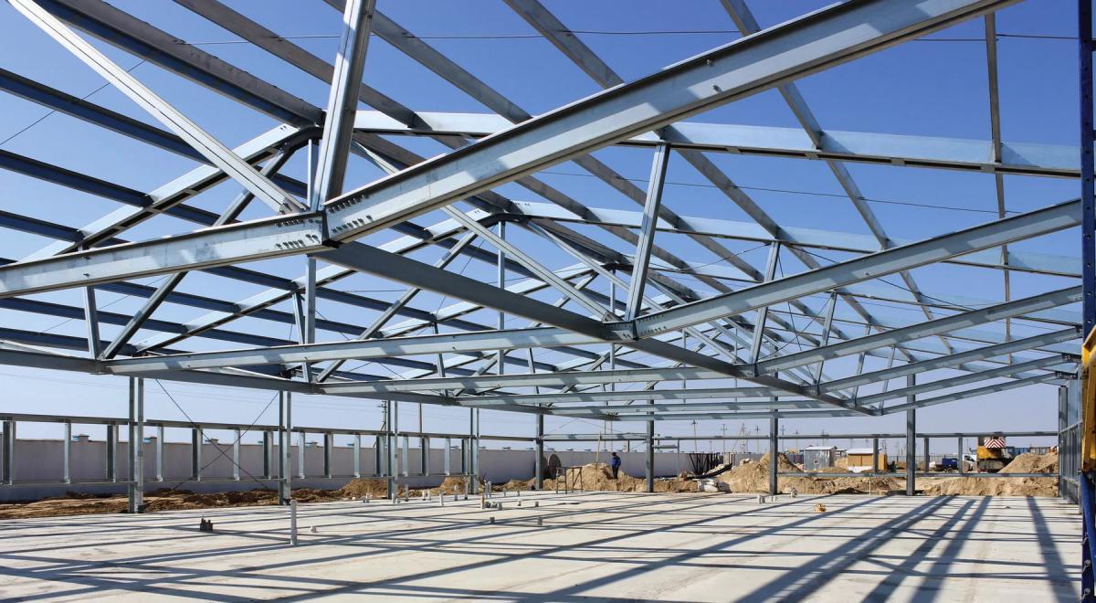 Преимущества строительных металлоконструкций
